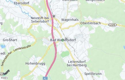 Stadtplan Bad Waltersdorf