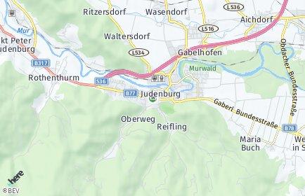 Stadtplan Judenburg