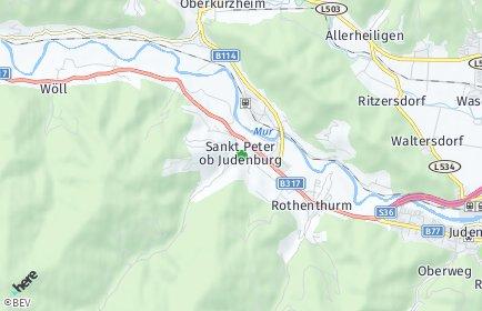Stadtplan Sankt Peter ob Judenburg