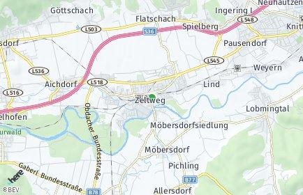 Stadtplan Zeltweg