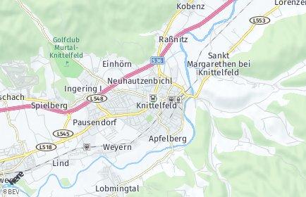 Stadtplan Knittelfeld