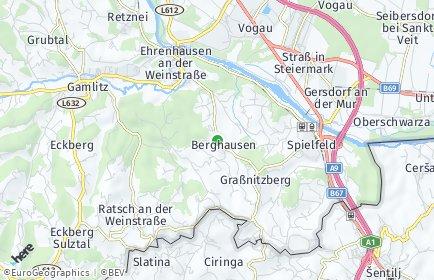 Stadtplan Ehrenhausen an der Weinstraße