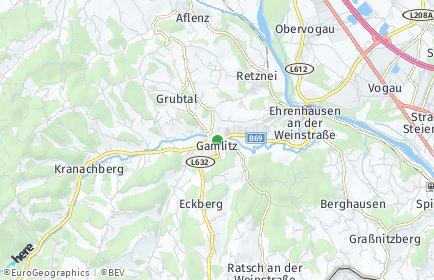 Stadtplan Gamlitz
