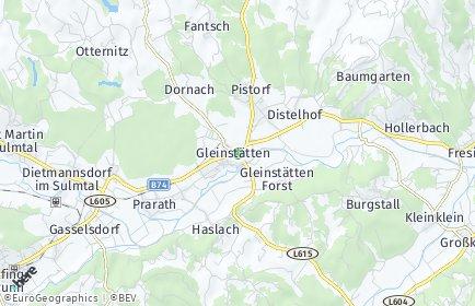 Stadtplan Gleinstätten