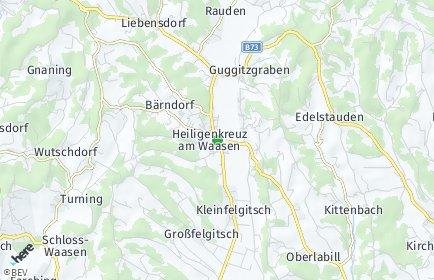 Stadtplan Heiligenkreuz am Waasen