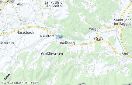 Stadtplan Oberhaag