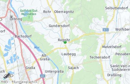 Stadtplan Ragnitz