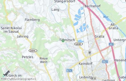 Stadtplan Tillmitsch