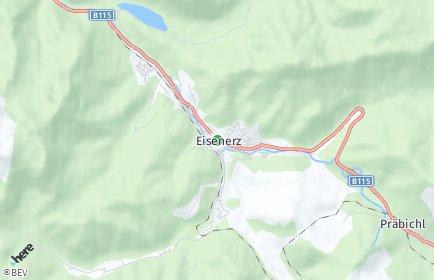 Stadtplan Eisenerz