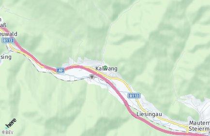 Stadtplan Kalwang