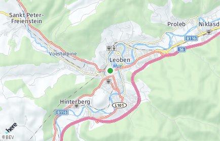 Stadtplan Leoben