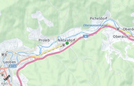 Stadtplan Niklasdorf