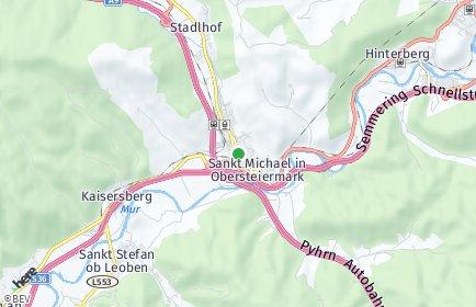 Stadtplan Sankt Michael in Obersteiermark