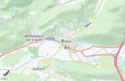 Stadtplan Liezen