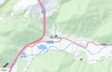 Stadtplan Ardning