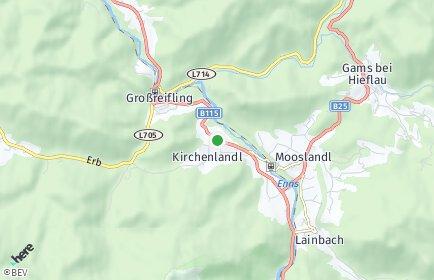 Stadtplan Landl