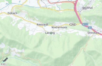 Stadtplan Lassing