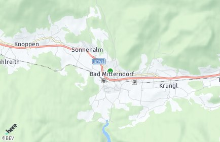 Stadtplan Bad Mitterndorf