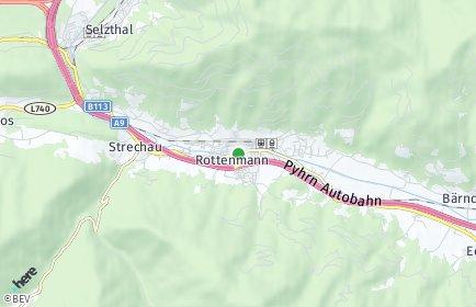 Stadtplan Rottenmann OT Strechen