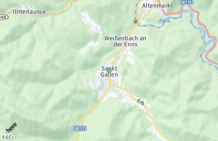 Stadtplan Sankt Gallen