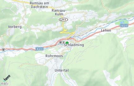 Stadtplan Schladming