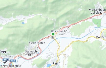 Stadtplan Wörschach