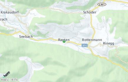 Stadtplan Ranten