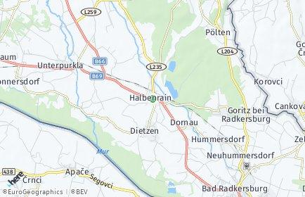Stadtplan Halbenrain