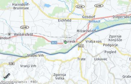 Stadtplan Mureck