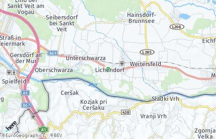 Stadtplan Murfeld