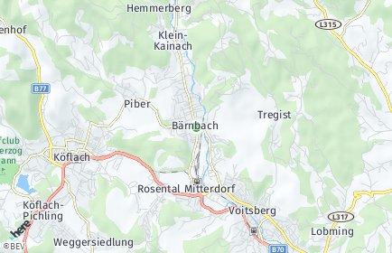 Stadtplan Bärnbach