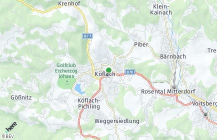 Stadtplan Köflach OT Gradenberg