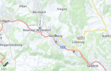 Stadtplan Voitsberg