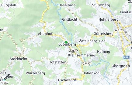 Stadtplan Gutenberg-Stenzengreith
