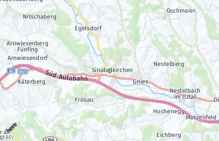 Stadtplan Sinabelkirchen