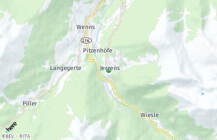 Stadtplan Jerzens