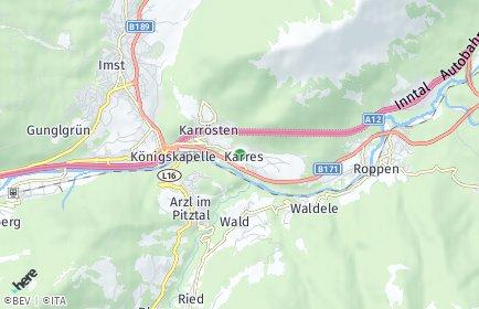 Stadtplan Karres