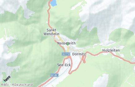 Stadtplan Nassereith