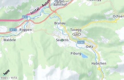 Stadtplan Sautens