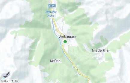 Stadtplan Umhausen