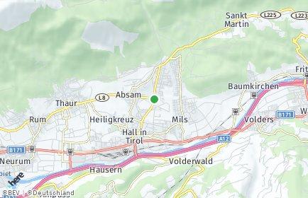 Stadtplan Absam