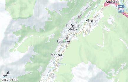 Stadtplan Fulpmes OT Medraz