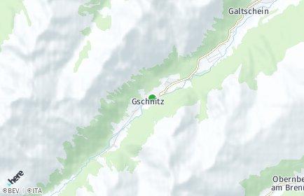 Stadtplan Gschnitz