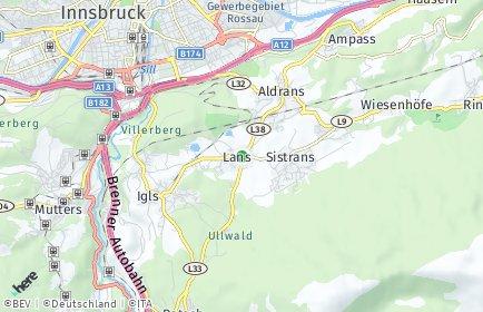 Stadtplan Lans