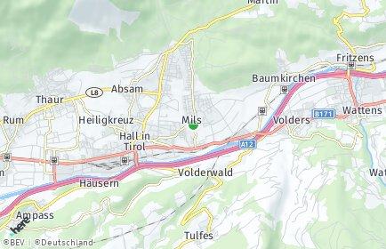 Stadtplan Mils