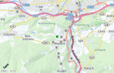Stadtplan Natters