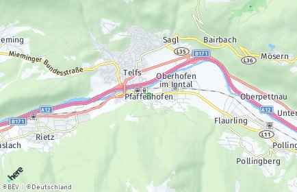 Stadtplan Pfaffenhofen