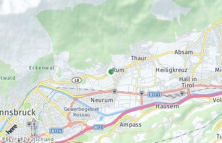 Stadtplan Rum