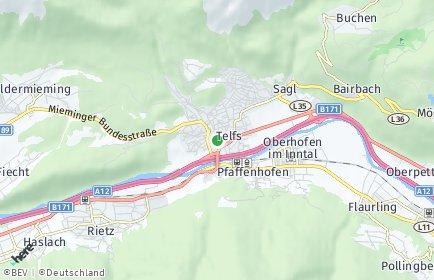 Stadtplan Telfs