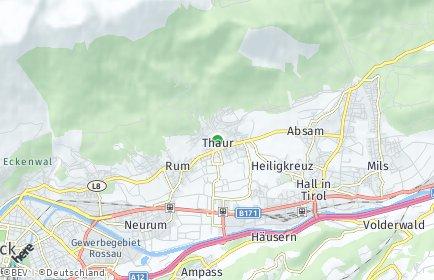 Stadtplan Thaur